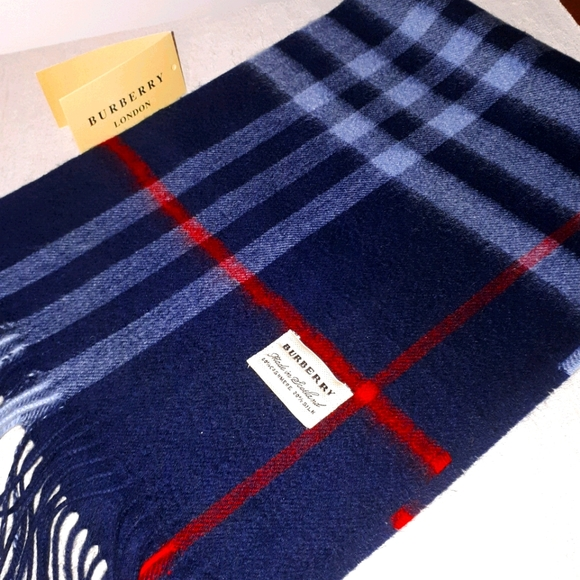 BURBERRY LONDON - UNISEX SCARF